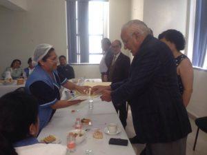 Desayuno y entrega de reconocimientos a personal por más de 25 años de servicio